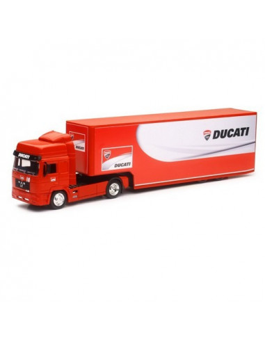 Maquette camion Man Ducati corse 1/43ème