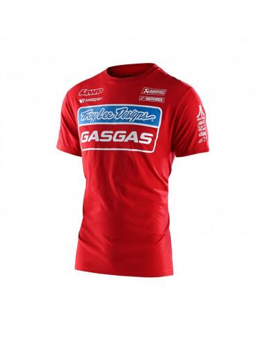 T-shirt Gas Gas Team Troy Lee Design...